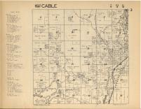 Cable T43N-R8W, Bayfield County 1954